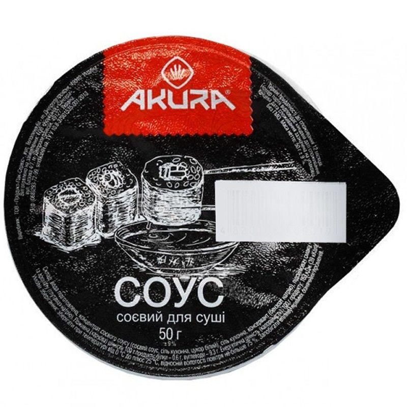 Akura, 50 г, соевый соус, Для суши, м/у