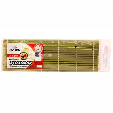Akura, 27х9 см, килимок для суші, Макіса, м/у
