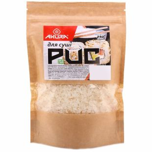 Akura, 250 g, rice for sushi, m / s