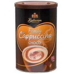 Bellarom, Cappuccino Choco, 500 г, Белларом, Капучино с шоколадом, кофейный напиток, растворимый, тубус