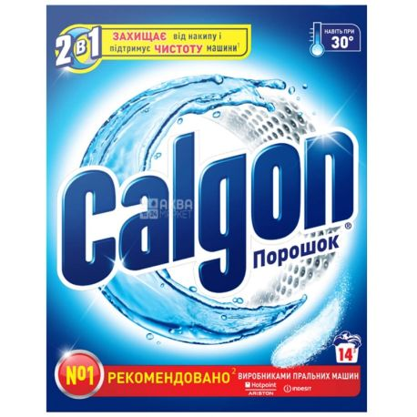 Calgon, 500 g, water softener, 2 in 1, m / s