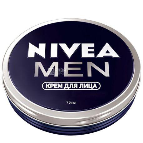 Nivea Men, 75 мл, Крем для лица, для мужчин