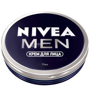 Nivea Men, 75 мл, крем для обличчя, для чоловіків, ж/б