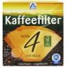 ALDI, 100 шт., фільтр для кавоварок, №4, м/у