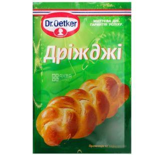 Dr. Oetker, 7 g, dry yeast, High-speed, m / y