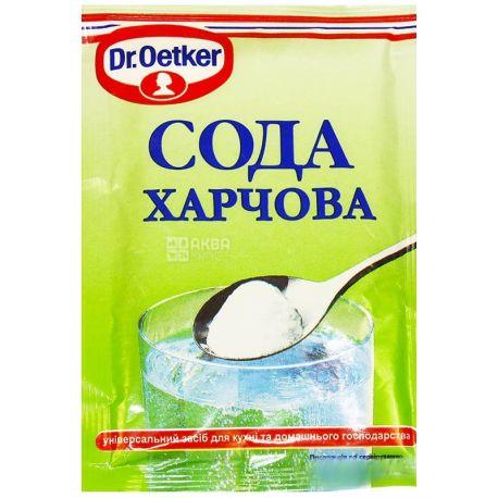Dr. Oetker, 50 г, сода пищевая, м/у