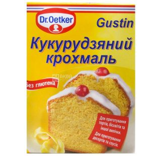 Dr. Oetker, 200 g, starch, Maize, Gustin, m / s