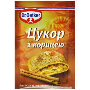 Dr. Oetker, 8 g, sugar with cinnamon, m / y