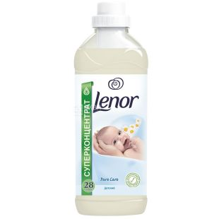 Lenor, 1 l, fabric softener, Pure Care, Baby, PET