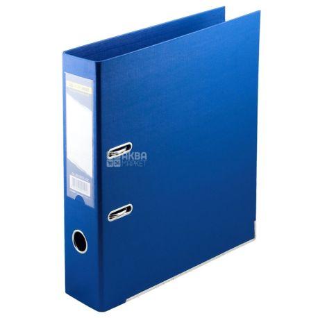 Buromax, 7 см, папка-реєстратор, Двостороння, Синя, А4, м/у