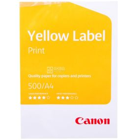 Canon, 500 арк., папір А4, Yellow Label, клас С, 80г/м2