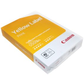 A4 Canon Yellow Label paper, 500 l., Class C, 80 g / m2