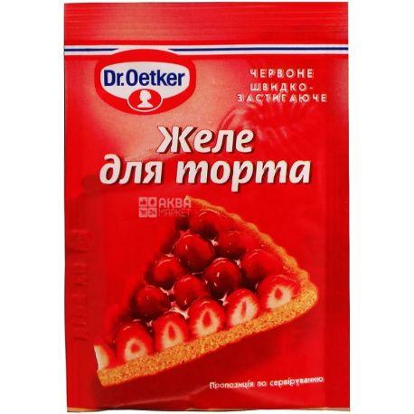 Dr.Oetker, 8 г, желе для торта, Красное, м/у