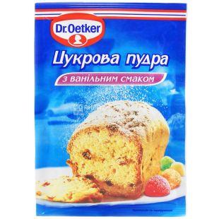 Dr.Oetker, 80 г, сахарная пудра, С ванильным вкусом, м/у