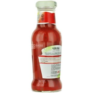 Heinz, 280 мл, соус томатный, Чили, стекло