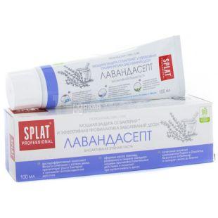 Splat Proffesional, 100 мл, зубная паста, Лавандасепт, тубус