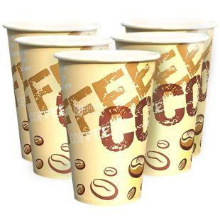 Coffee Coffee Стакан паперовий двошаровий З малюнком 400 мл, 50 шт, D80