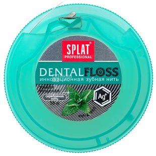 Splat Professional, 30 м, зубная нить, С ионами серебра, м/у