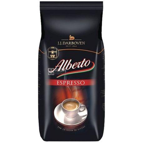 J.J. Darboven Alberto Espresso, 1 кг, Кофе Дарбовен Альберто Эспрессо, средней обжарки, в зернах