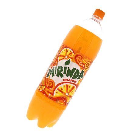 Mirinda, Orange, 2 л, Миринда, Апельсин, Вода сладкая, ПЭТ