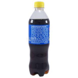 Pepsi-Сola Twist, 0,5 л, солодка вода, Лимон, ПЕТ