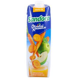 Sandora Овочевий коктейль, 0,95 л, сік, Морквяно-яблучний, м/у