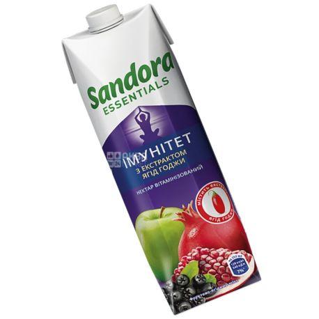 Sandora Essentials, Імунітет, С екстрактом ягід годжі, 0,95 л, Сандора, Нектар вітамінізований