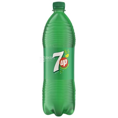 7UP, 1 liter, sweet water, PET