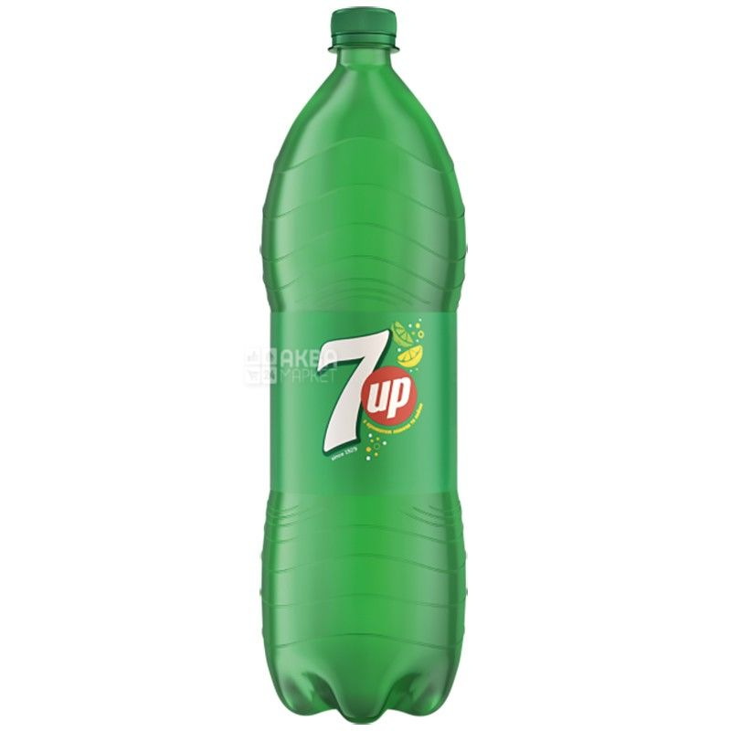 7UP, 2 l, sweet water, PET