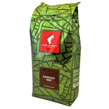 Julius Meinl Caffe del Moro Espresso Bar,  1 кг, Кофе Юлиус Мейнл Эспрессо Бар, темной обжарки, в зернах