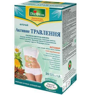 Dr. Phyto, 20 pcs., Herbal tea, Active digestion