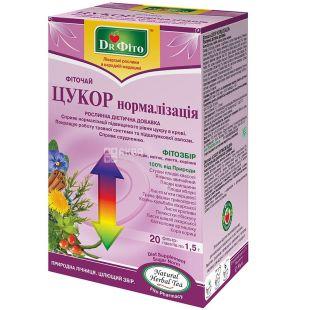 Dr. Phyto, 20 pcs., Herbal tea, Sugar normalization