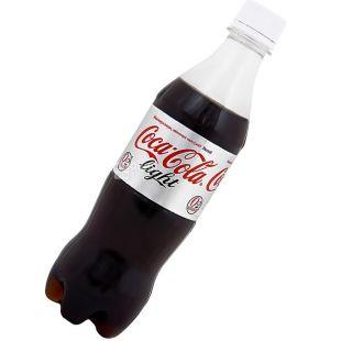 Coca-cola, 0,5 л, солодка вода, Light, ПЕТ