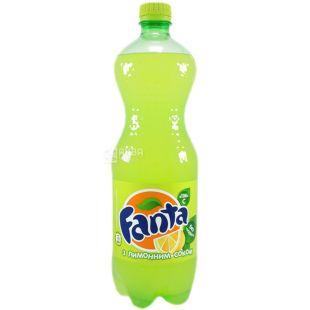 Fanta, 0,5 л, солодка вода, З лимонним соком, ПЕТ