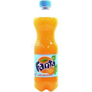 Fanta, 0,5 l, sweet water, With tangerine juice, PET