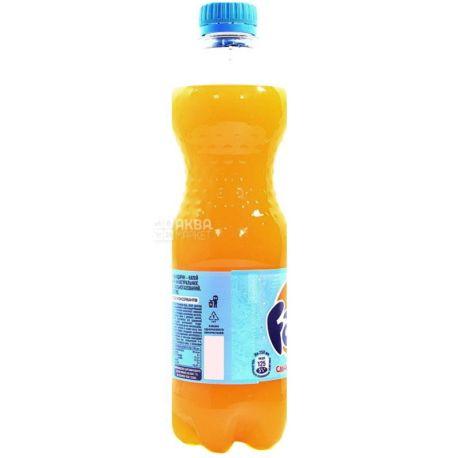 Fanta, Мандарин, 0,5 л, Фанта, Вода сладкая, с натуральным соком, ПЭТ