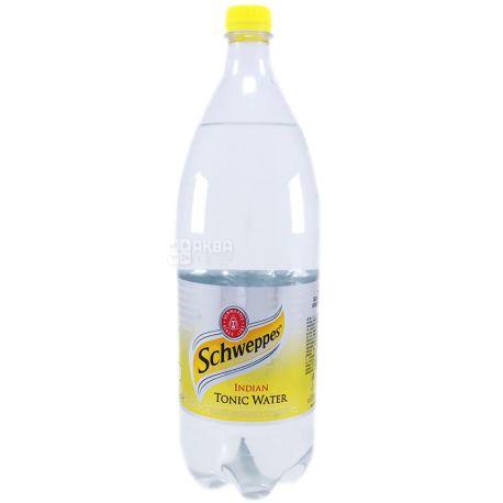 Schweppes, 1,5 л, Солодка вода, Indian Tonic, ПЕТ