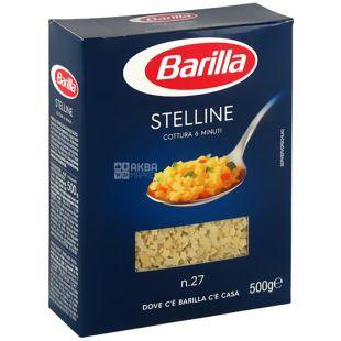 Barilla, 500 г, Макароны, Stelline, №27, картон