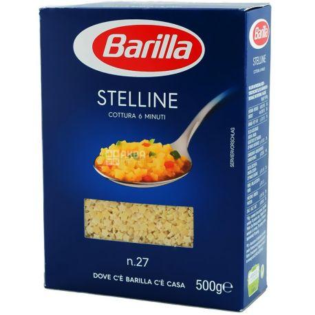 Barilla Stelline №27, 500 г, Макароны Барилла Стеллине