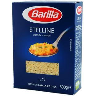 Barilla, 500 г, Макарони, Stelline, №27, картон