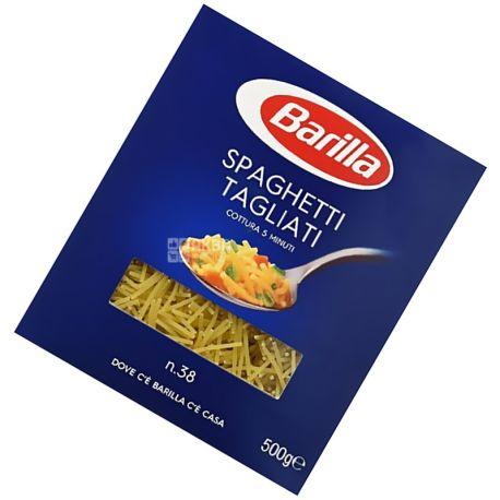 Barilla, 500 g, Macarons, Tagliati, 38, cardboard