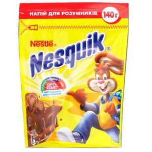 Nesquik, Opti-Start, 140 г, Несквік, Опті-Старт, какао-напій, швидкорозчинний