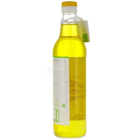 Екород, 0,5 л, олія, Соняшникова, Органічна, скло