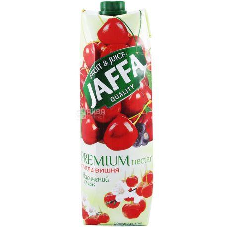 Jaffa, Premium nectar, Вишневий, 1 л, Джаффа, Нектар натуральний