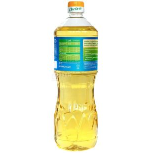 Олейна, 0,87 л, масло подсолнечное, Рафинированное, Традиционная, ПЭТ