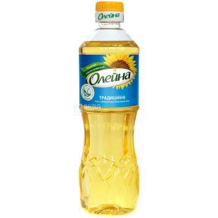 Олейна, 0,5 л, олія соняшникова, Рафінована, Традиційна, ПЕТ