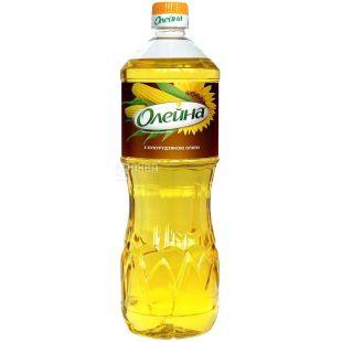 Олейна, 0,87 л, масло подсолнечно-кукурузное, рафинированное, ПЭТ