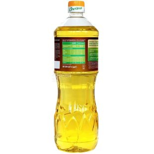 Олейна, 0,87 л, олія соняшниково-кукурудзяна, рафінована, ПЕТ