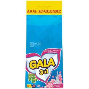 Gala, 9 кг, стиральный порошок, Для белого белья, Французский аромат, Автомат, м/у