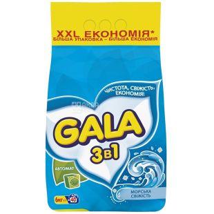 Gala, 6 кг, стиральный порошок, Морская свежесть, Автомат, м/у